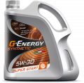 G-Energy Synthetic Super Start 5W-30 API SN/CF; ACEA C3 синтетическое 4л